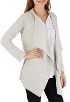 edit - Waterfall Cardigan Stone