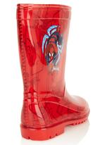 Zoom - Spiderman Gum Boot Red