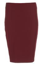 KARMA - Tibit Skirt Red Dark Red