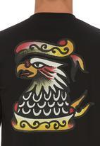 RVCA - Krak Eagle T-shirt Black