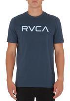 RVCA - RVCA T-shirt Dark Blue