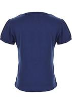 POP CANDY - T-shirt with Print Navy