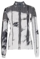 DAVID by David Tlale - Leyla Shirt Mid Grey