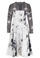 DAVID by David Tlale - Maggy Dress Mid Grey