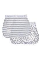 Precioux Baby - 2-pack Diaper Covers Mid Grey Mid Grey
