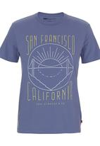Levi's® - Graphic T-shirt Mid Blue Mid Blue