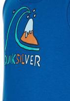 Quiksilver - Super Hero Toddler - Sleeveless Hoodie Mid Blue