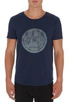 S.P.C.C. - Logo T-shirt Mid Blue Mid Blue