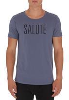 S.P.C.C. - Salute T-shirt Navy