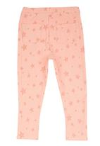 Soobe - Printed Leggings Pale Pink