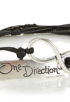 Jewels and Lace - Forever One Direction Bracelet Black