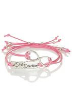 Jewels and Lace - Forever One Direction Bracelet Pink Mid Pink