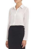 c(inch) - Square-detail Shirt
