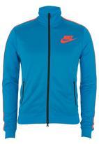 Nike - Nike Tribute Track Jacket Blue Mid Blue
