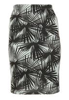 STYLE REPUBLIC - Tropical-print Skirt Multi-colour