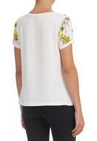 Suzanne Betro - Tropical-print T-shirt Multi-colour