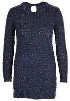 Amara Reya - Jersey Tunic Mid Blue