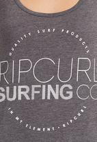 Rip Curl - In My Element Tank Dark Grey Dark Grey
