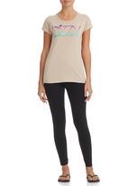Lizzy - Lizzy T-shirt Beige