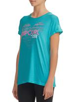 Rip Curl - T-shirt Turquoise