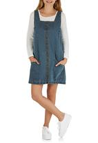 STYLE REPUBLIC - Denim Pinafore