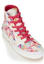 SUPERGA - Butterfly High-tops Multi-colour