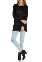 Amara Reya - Jersey Tunic Black
