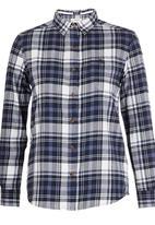 Tokyo Laundry - Checked Shirt Dark Blue
