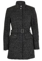 ONLY - Alanis Boucle Wool-like Coat Dark Grey