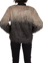 ONLY - Favourite Faux Fur Jacket Multi-colour