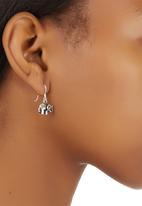 JLB Jewellery - Elephant Drop Earrings Silver