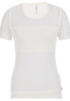 RVCA - Cut-out T-shirt White