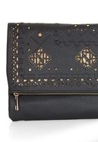 STYLE REPUBLIC - Cut-out Detail Clutch Black