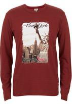 555 Soul - New York T-shirt Red