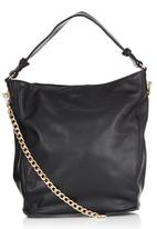 STYLE REPUBLIC - Chain Reaction Shoulder Bag Black