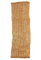 c(inch) - Metallic Snood Gold