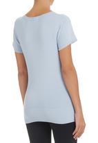 Passionknit - T-shirt Blue Pale Blue