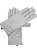 edit - Gloves with Ruched Cuff Grey