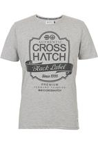 Crosshatch - Luxout T-shirt Grey