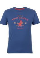 POLO - League T-shirt  Blue