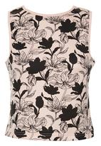 STYLE REPUBLIC - Printed Cami Light Pink Pale Pink