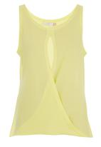 edit - Cross-over Tunic Yellow