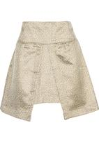 adam&eve; - Mini skirt with front inset Multi-colour