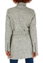 ONLY - Alanis Boucle Wool-like Coat Grey