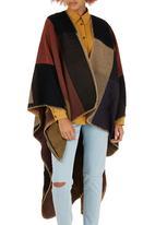 edit - Block Party Blanket Wrap Multi-colour