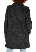 ONLY - Sophia Wool-like Coat Dark Grey
