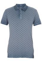 GUESS - Boardwalk Polo Shirt Dark Blue