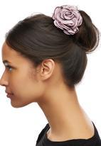 edit - Rose Bloom Hairband Pale Purple