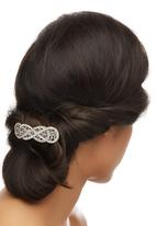 edit - Vintage Hairclip Silver