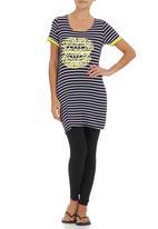 Suzanne Betro - Stripe T-shirt Multi-colour